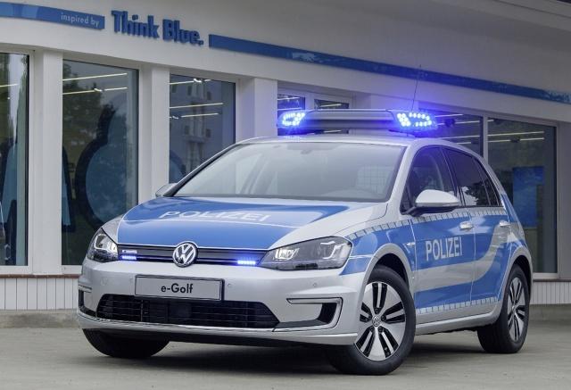 Volkswagen E Golf W Policyjnym Wydaniu Volkswagen E Golf