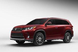 Toyota Highlander  Toyota Highlander doczekała się face-liftingu. W aucie pojawił się nowy silnik oraz nowe wyposażenie. Zadbano także o zmiany stylistyczne.   Fot. Toyota