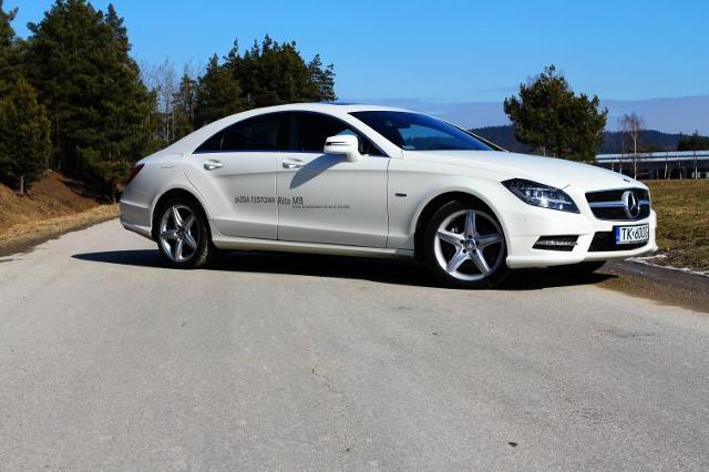 Testujemy: Mercedes-Benz CLS 350 CDI. Prestiż dla indywidualisty