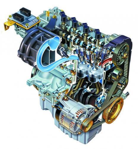 Fot. Fiat: Współczesne silniki nie wymagają specjalnych zabiegów podczas pierwszego tysiąca kilometrów. Nie należy jednak niepotrzebnie przeciążać jednostki napędowej.