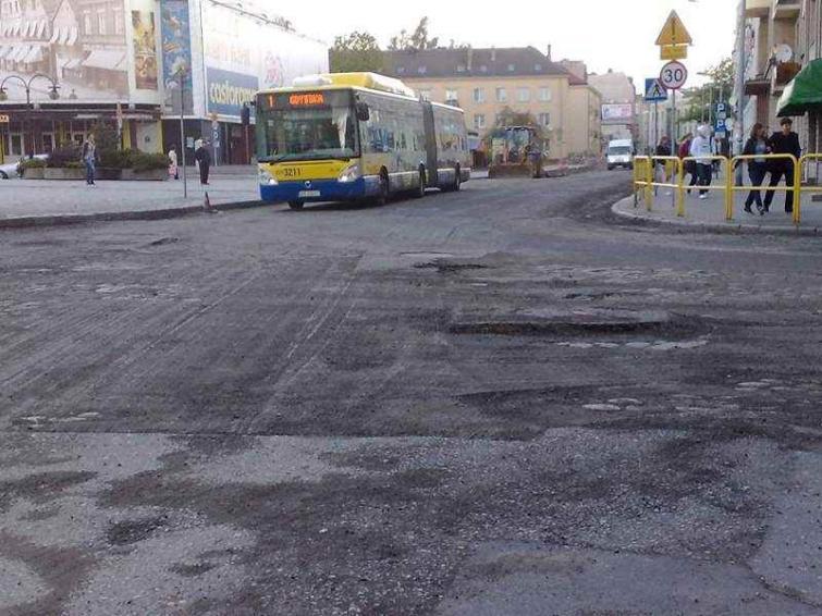 Ulica Grodzka w Słuspku po remoncie będzie na stałe zamknięta