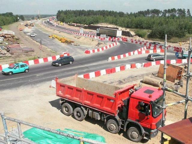Otwarcie autostrady A1 z Grudziądza do Torunia