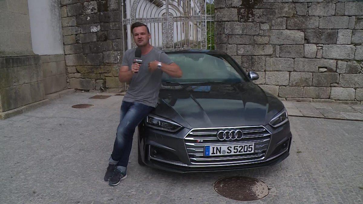 Audi S5 Coupe  Audi S5 Coupe otrzymało silnik 3.0 V6 TFSI. Ten turbodoładowany motor oferuje 354 KM, czyli o 15 KM więcej niż poprzednio.  Fot. TVN Turbo/x-news