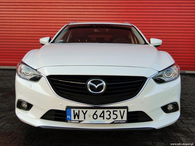 Mazda 6 Sport Kombi 2.0,  Fot: Dariusz Wołoszka, Info-Ekspert