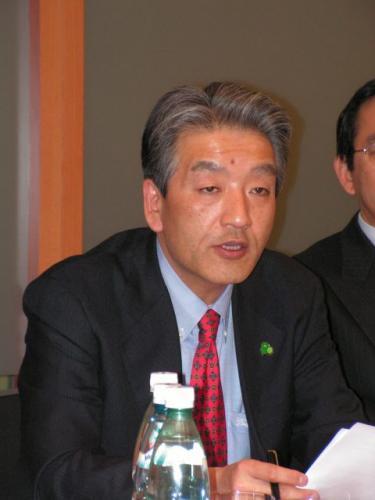 Fot. R.Polit: Hiroshi Kono, nowy prezydent Toyota Motor Poland.