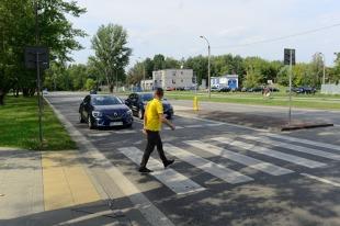 Przejście dla pieszych. Te elementy mają zwiększyć bezpieczeństwo