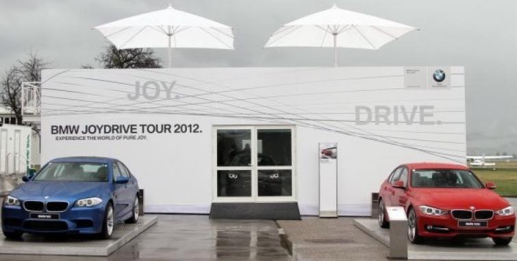 BMW Joydrive Tour 2012: 31 maja w Ułężu