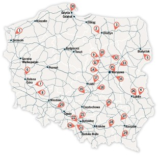Mapa Fotoradarow W Polsce Lista Lokalizacji