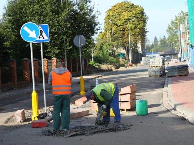 Remonty ulic w Słupsku - raport