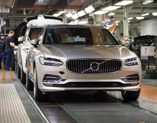 Volvo rośnie w siłę. Pierwsze V90 właśnie zjechało z taśmy produkcyjnej