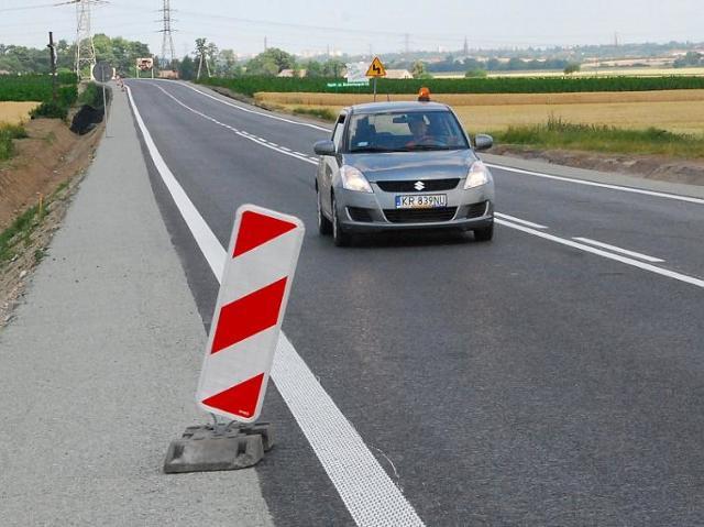 Droga Krajowa 45. Trasa z Opola do Krapkowic już przejezdna