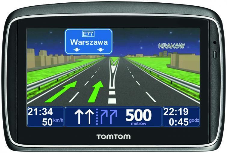Naiwgacje samochodowe GPS firmy TomTom na rynku od 10 lat