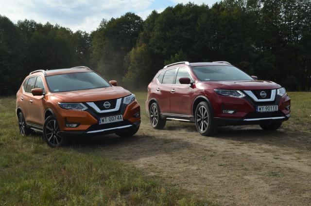 Nowe, 4-cylindrowe silniki nie zmieniły charakteru Nissana X-Trail. Poszukiwacze przygód w granicach rozsądku – oto samochód dla Was.   Fot.: Michał Kij