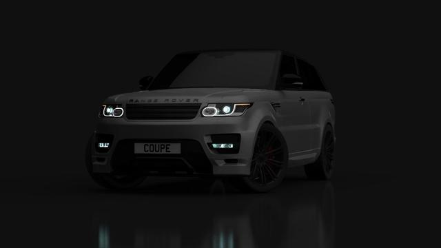 Range Rover Sport Coupe / Fot. Bulgari Design
