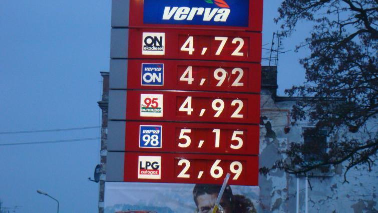 Aktualne ceny paliw w Lubuskiem. Jest drożej!