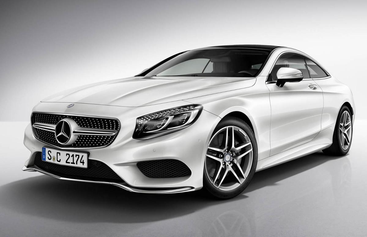 mercedes benz s class coupe z pakietem amg line. Black Bedroom Furniture Sets. Home Design Ideas
