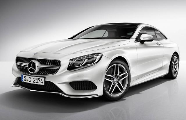 Mercedes-Benz S-Class Coupe AMG Line / Fot. Mercedes-Benz
