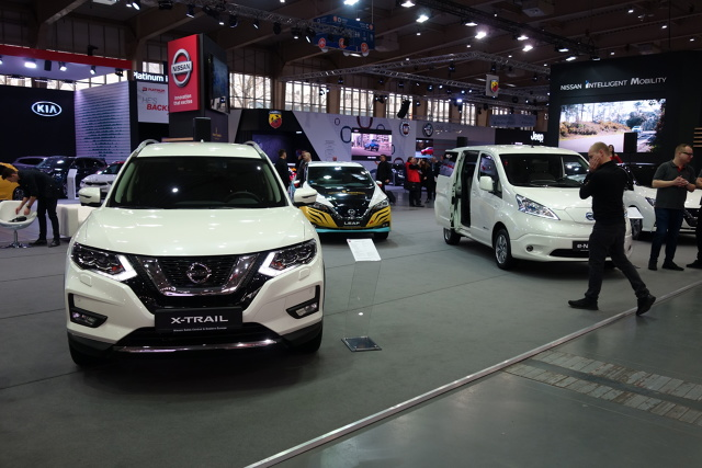 Samochody elektryczne stają się elementem motoryzacyjnego krajobrazu, także w Polsce. I to właśnie elektromobilność będzie tematem przewodnim ekspozycji Nissana podczas tegorocznego Poznań Motor Show.   Fot. Ryszard M. Perczak