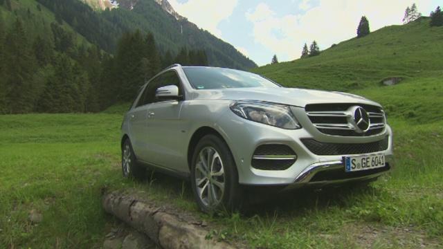 Mercedes Gle Test Pakietu Offroadowego Video