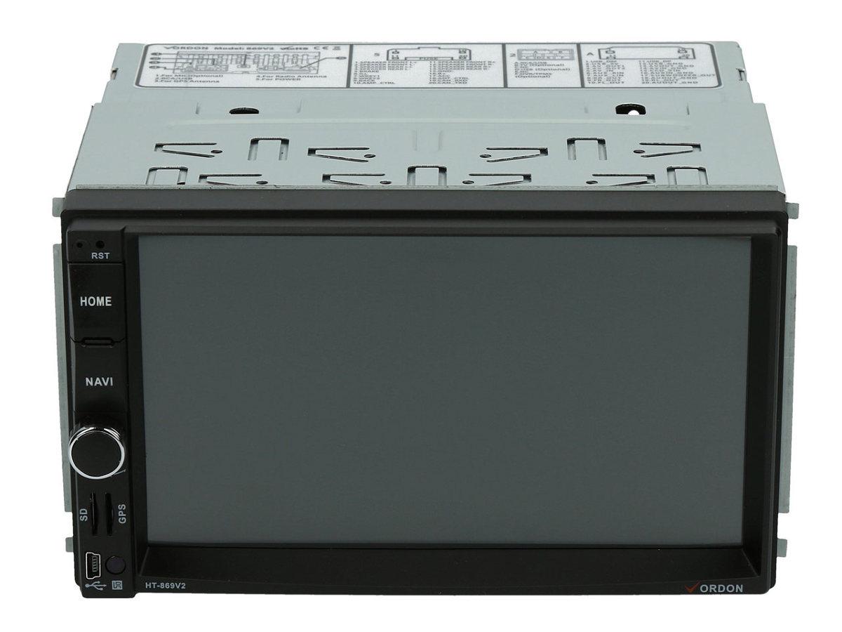 Na rynku pojawił się właśnie wielofunkcyjny radioodtwarzacz Vordon HT-869V2 o wielkości 2 DIN, pełniący funkcje samochodowego centrum multimedialnego oraz nawigacji GPS. Urządzenie wyposażone jest w duży 7 calowy ekran, zapewnia łączność Bluetooth i MirrorLink . Pozwala także na podłączenie kamery cofania.   Fot. Archiwum