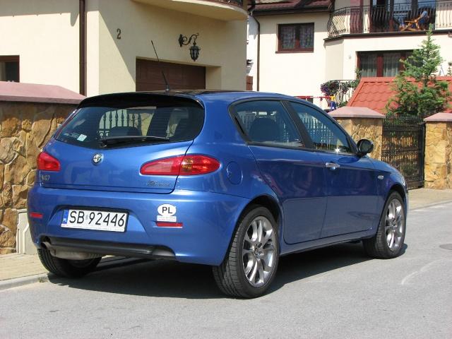 zdjęcie Alfa Romeo 147 2 0 150 KM Selespeed Black Line