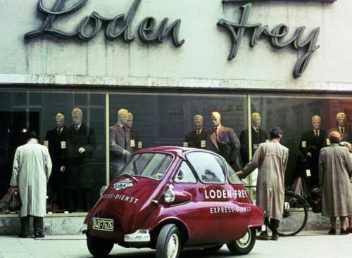 Fot. BMW: BMW kupiło licencję Isetty od Włochów. Niemcy zmieni mu silnik na własny o pojemności 250 cm3.