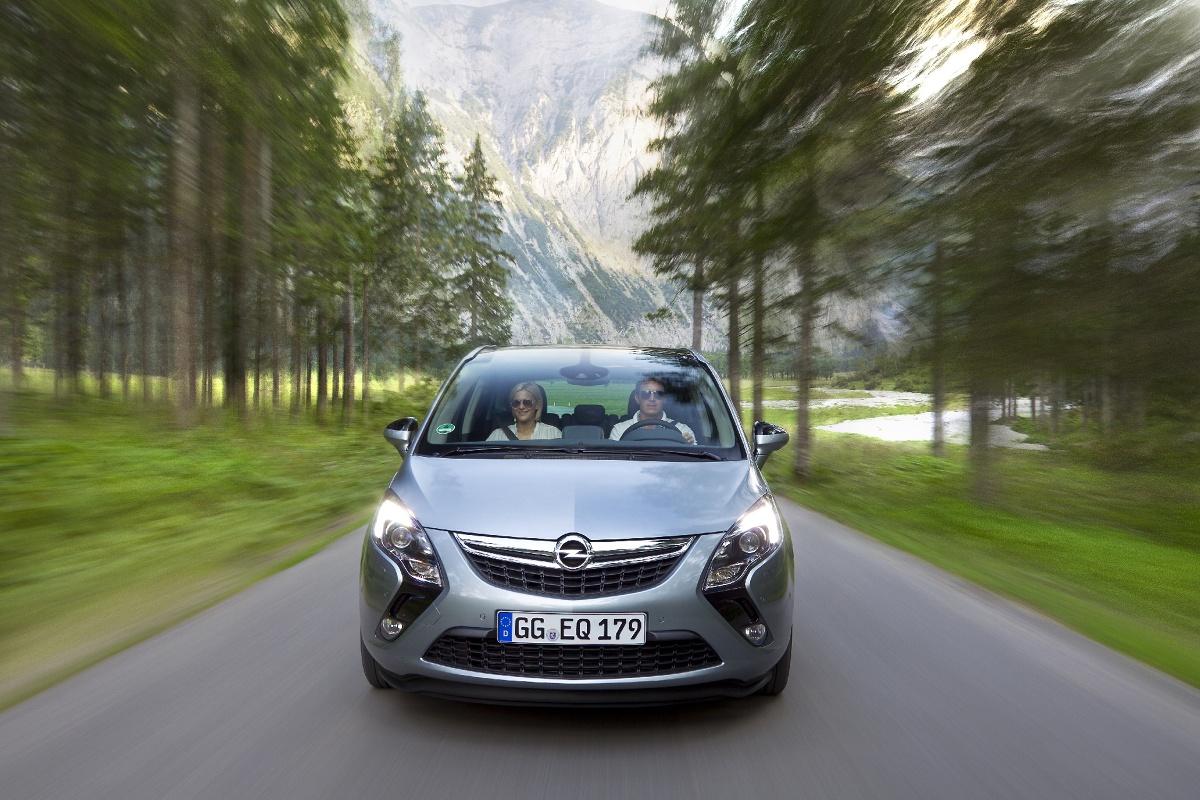 Opel Zafira, Fot: Opel