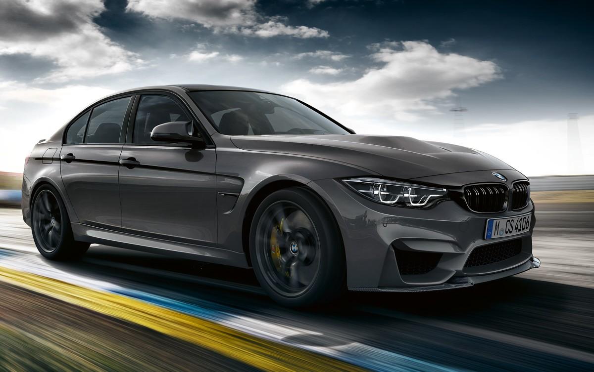 BMW M3 CS  Nowe BMW M3 CS to model specjalny dywizji BMW M GmbH, który będzie produkowany od marca 2018 w liczbie ok. 1200 egzemplarzy.  Fot. BMW