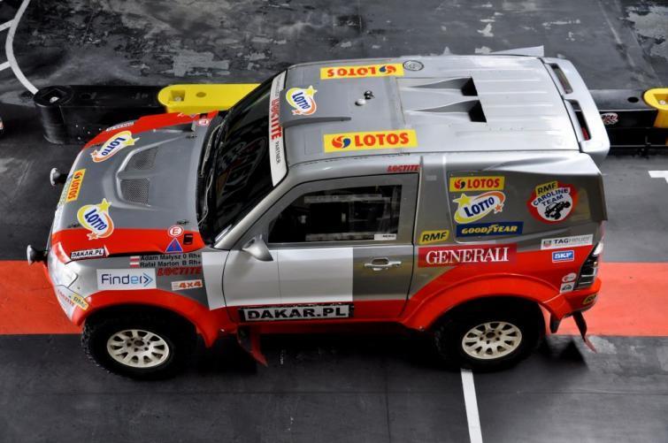 Adam Małysz pojedzie na Dakarze Mitsubishi Pajero
