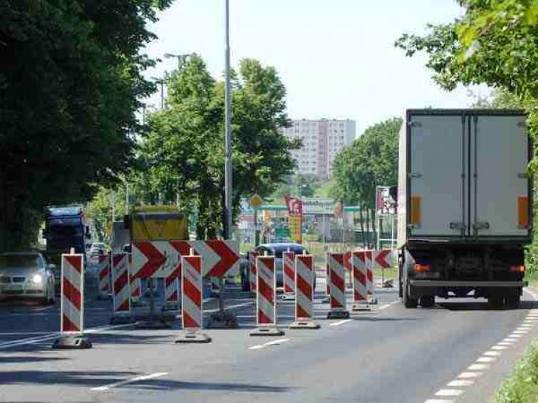 Nowe prace remontowe na ul. Gdańskiej w Koszalinie