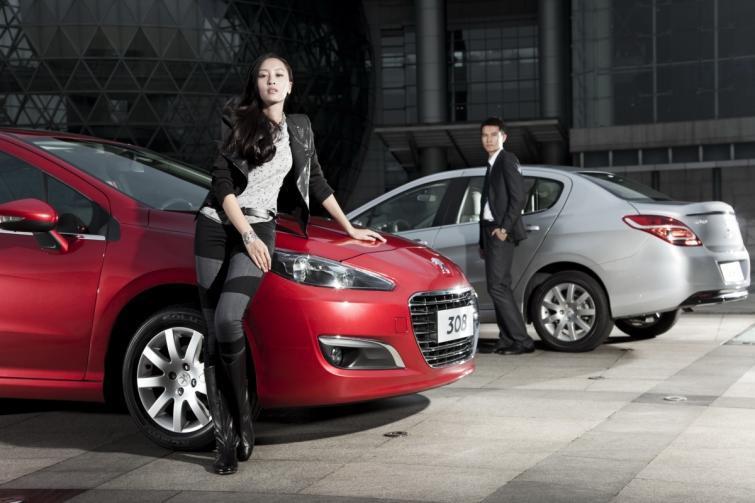 Peugeot 308 sedan debiutuje w Chinach