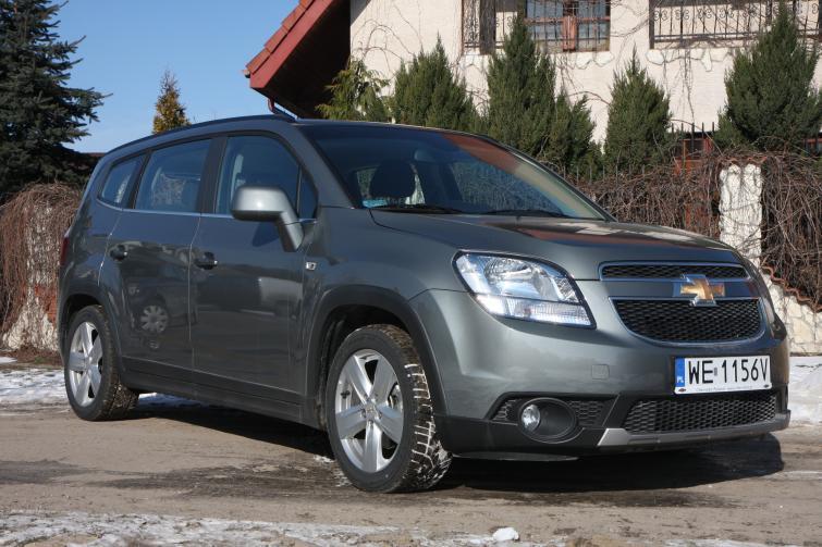Testujemy Chevrolet Orlando 20 Diesel Ltz