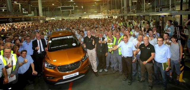 Opell Mokka X   Po premierze diesli 1.6 CDTI o mocy 110 i 136 KM, ofertę silników przeznaczonych dla Mokki rozszerzono o nową jednostkę benzynową 1.4 Direct Injection Turbo 152 KM znaną z Astry V.  Fot. Opel