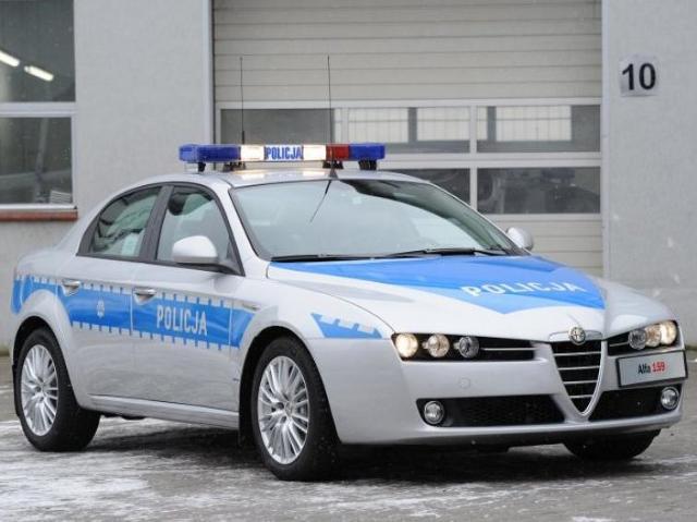 Alfa Romeo 159 dla policji - zobacz nowe radiowozy