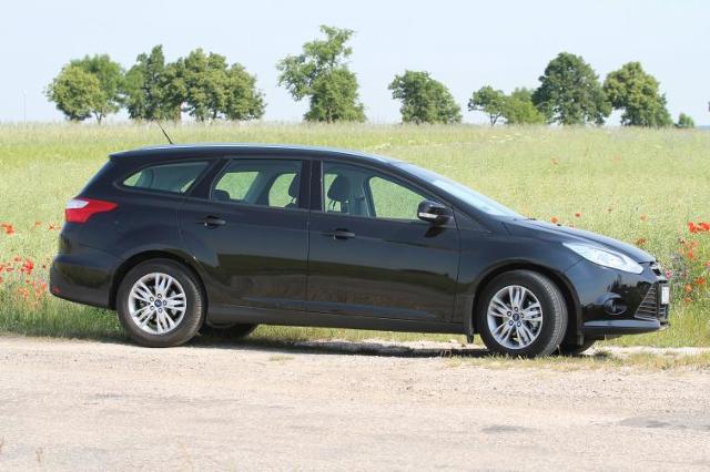 Testujemy: Ford Focus kombi 1.6 TDCi Trend – auto dla handlowca