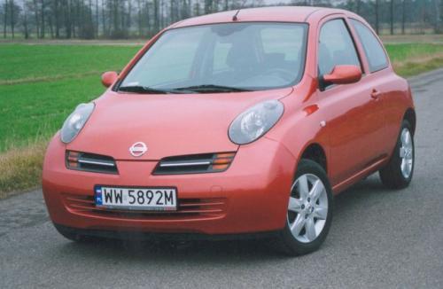"""Fot. Zdzisław Podbielski: Nissan Micra ma charakterystyczny wygląd nadwozia m.in. """"wyłupiaste"""" lampy przednie."""