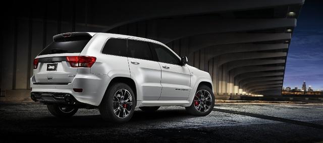 zdjęcie Jeep Grand Cherokee SRT Limited Edition