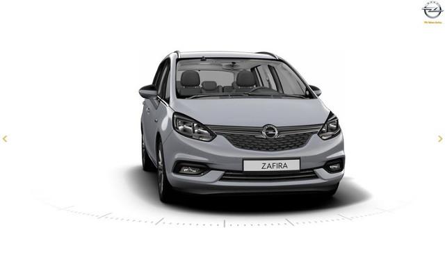 Opel Zafira   Linia boczna pozostała bez zmian, ale przestylizowano przód oraz tył pojazdu. Zmieniono kształt zderzaka, świateł oraz grilla. Tym samym Zafira upodobni się do nowych modeli marki.   Fot. Opel