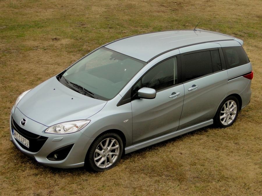 Mazda 5, Fot: Dariusz Wołoszka - Info-Ekspert