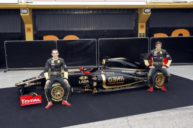 Robert Kubica ma nowy bolid - Lotus Renault R31 - zobacz foto