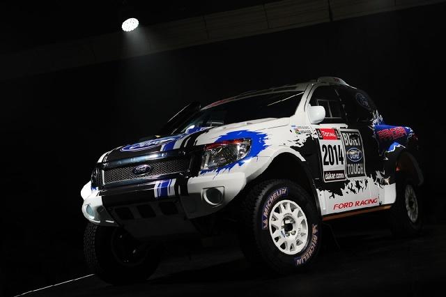 Ford Ranger Dakar 2014, Fot: Ford