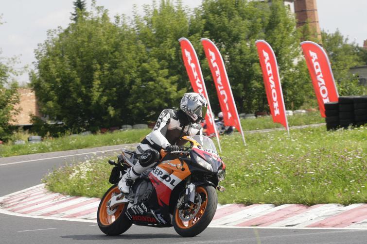 Przetestuj nowe motocykle Hondy na torze w Radomiu