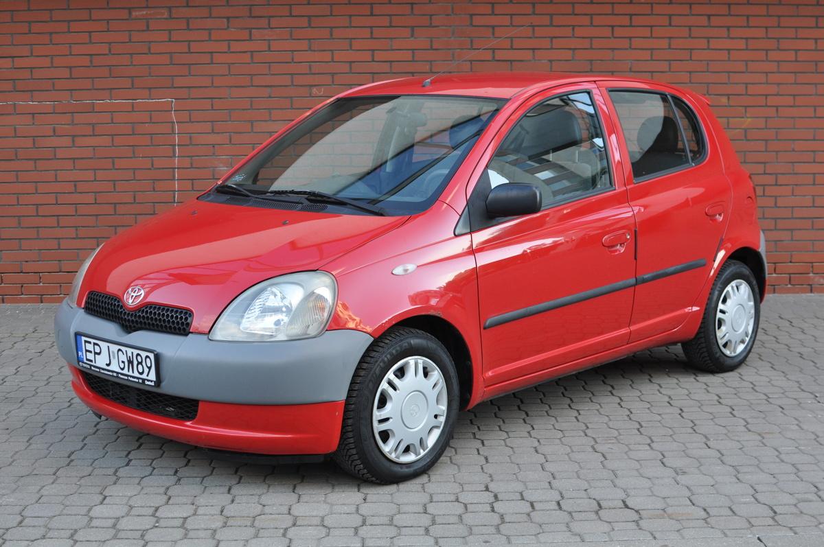 Nietypowy Okaz Toyota Yaris I (1999-2005). Typowe usterki, wady, zalety, sytuacja CY68