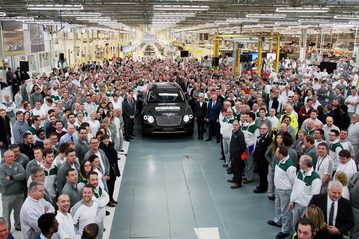 Bentley Bentayga / Fot. materiały prasowe