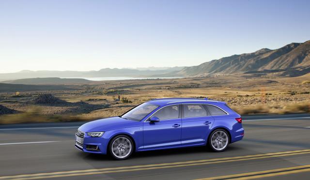 Audi A4 B9 / Fot. Audi
