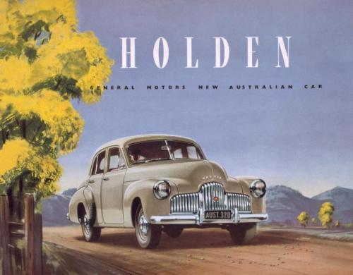 """Fot. Holden:  Dziś nikt tego nie pamięta, a każdy Australijczyk wzdychający """"nie robią już takich aut jak kiedyś"""" myśli o Holdenie 48-215, zwanym FX. Wyprodukowano go w 120 tysiącach egzemplarzy. Tak reklamowano ten pierwszy australijski samochód w 1948 r"""