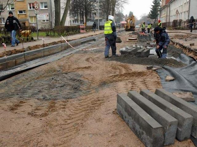 Remonty w Koszalinie: Moniuszki w robocie