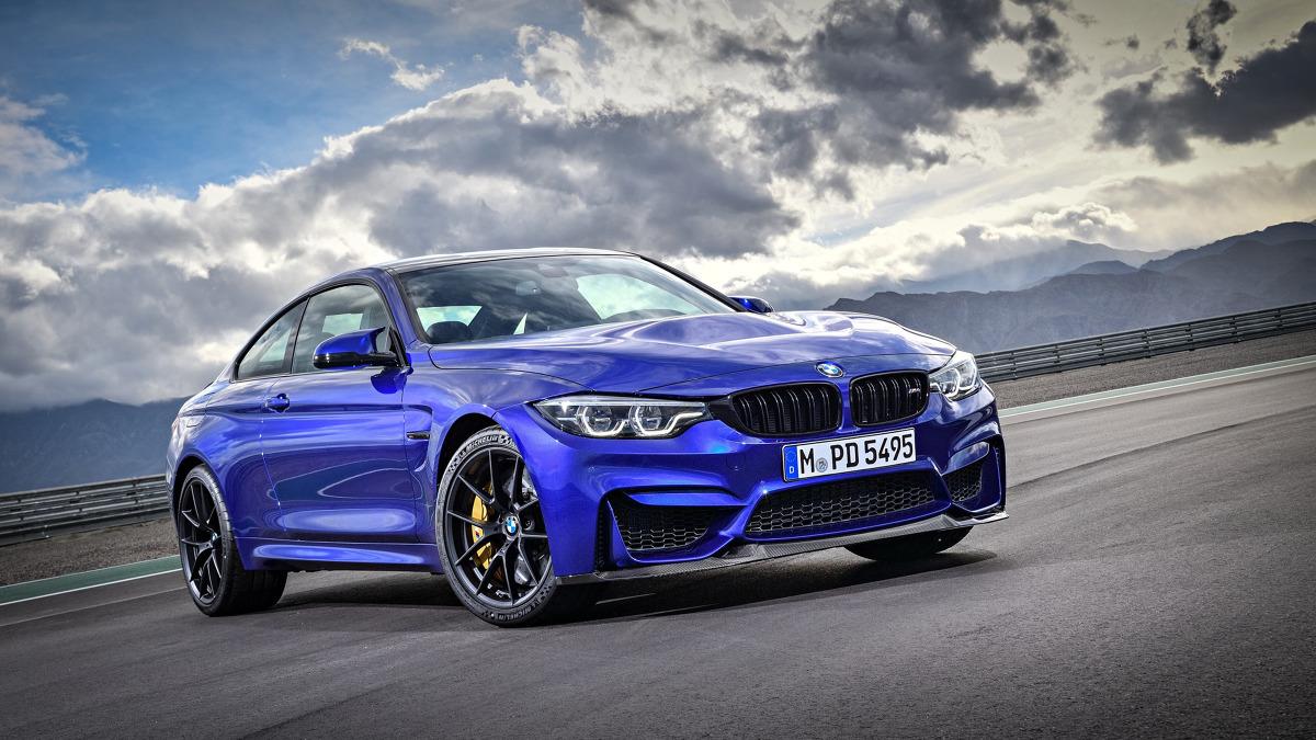 BMW M4 C5  Jak podaje producent, model M4 CS pokonuje Północną Pętlę toru Nurburgring w 7 minut i 38 sekund.  Fot. BMW