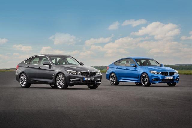 BMW Serii 3 Gran Turismo.  Przewidziane zostały trzy wersje wyposażenia: Sport Line, Luxury Line oraz M Sport. We wszystkich wariantach standardem jest m.in. sześć poduszek powietrznych, system bezkluczykowy, dwustrefowa klimatyzacja oraz wielofunkcyjna kierownica.  Fot. BMW