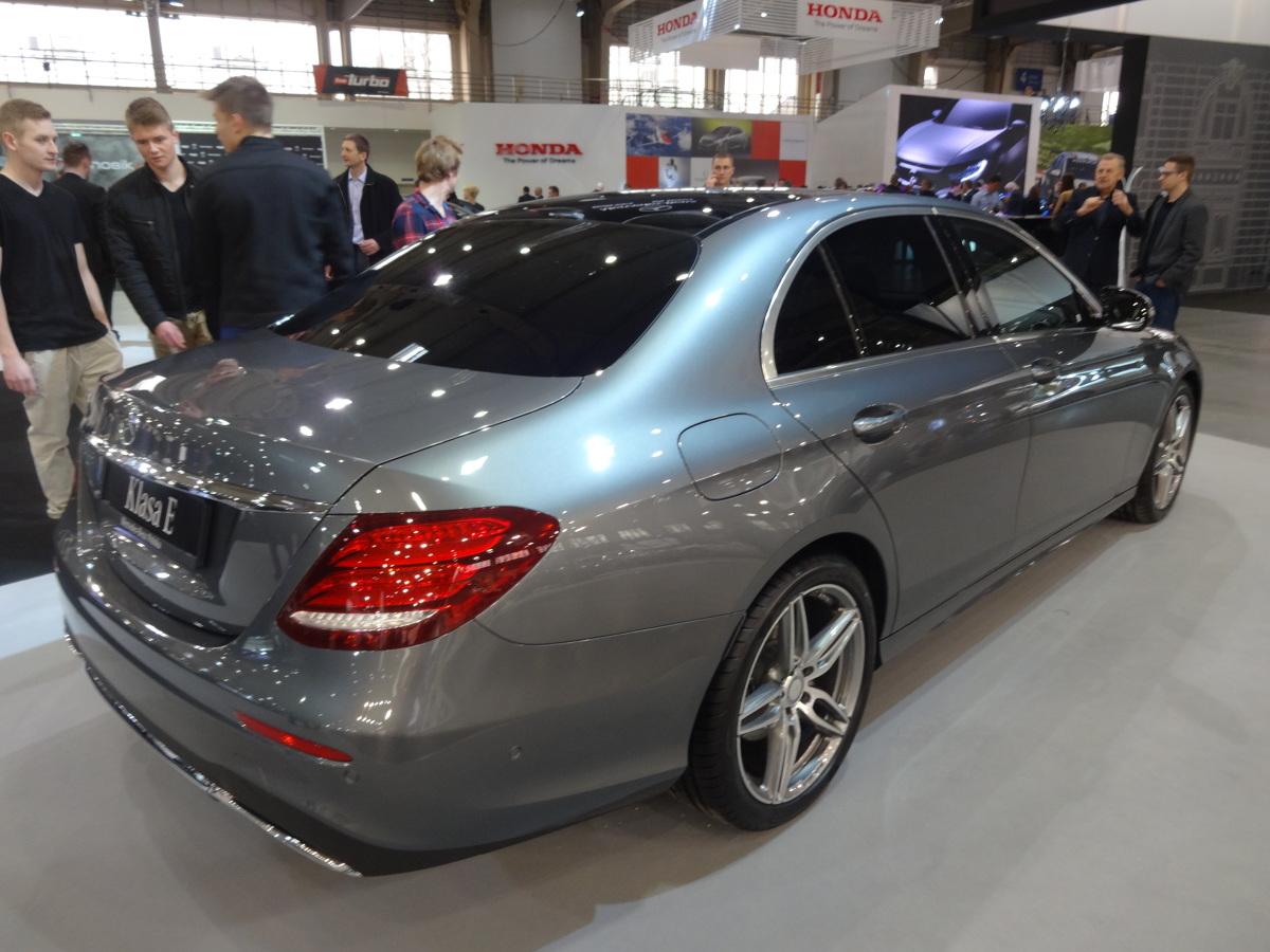 Mercedes na Poznań Motor Show  Fot. Tomasz Szmandra